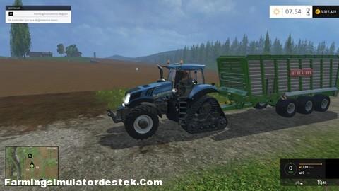 FS 2015 – New Holland T8 435 Traktör