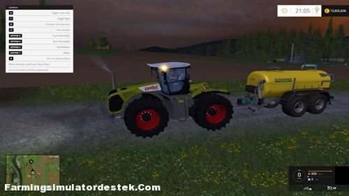 Photo of FS 2015 – Claas Xerion 5000 Traktör