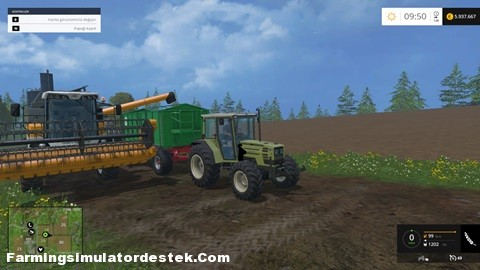 FS 2015 – Hürlimann H688FL Traktör