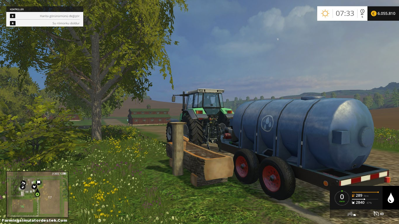 Photo of Farming Simulator 2015 Su Tankerini Doldurma
