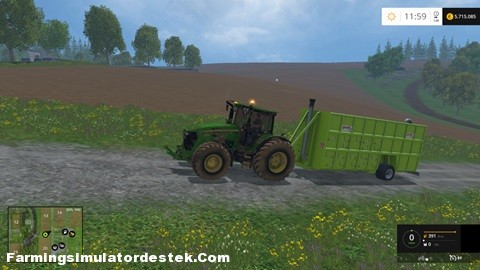 Photo of FS 2015 – John Deere 7930 WSB Kirli ve Temiz Traktör