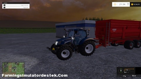 Photo of FS 2015 – New Holland T6.160 Güçlü Traktör