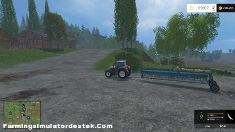 FS 2015 – TSL 8 Metrelik Mibzer