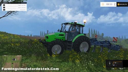 Photo of FS 2015 – Deutz Fahr 5150 TTV Traktör