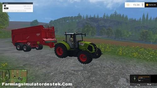 Photo of FS 2015 – Claas Axion 850 Traktör