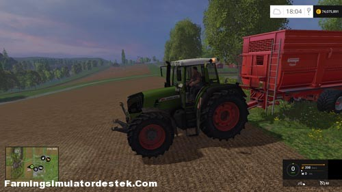 FS 2015 – Fendt 930 TMS Traktör
