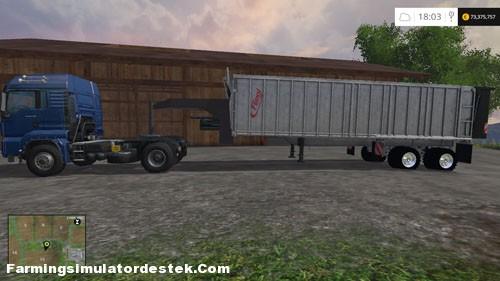 FS 2015 – Fliegl ASS 2101 Römork