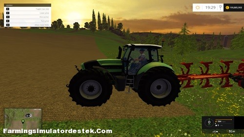 Photo of FS 2015 – Deutz Fahr Agrotron X 720 Traktör
