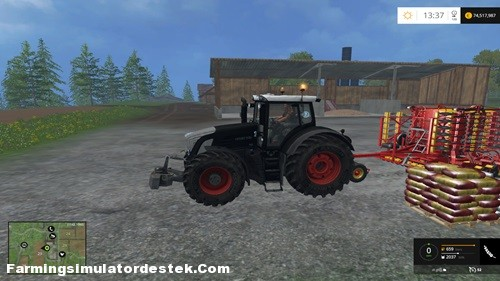 Photo of FS 2015 – Fendt 936 BB SCR Traktör