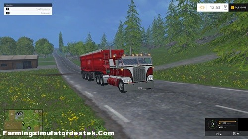 Photo of FS 2015  – Kenworth K100 Kamyon Yaması
