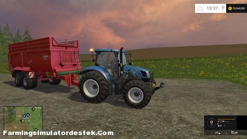 Photo of FS 2015 – New Holland 8970 Traktör