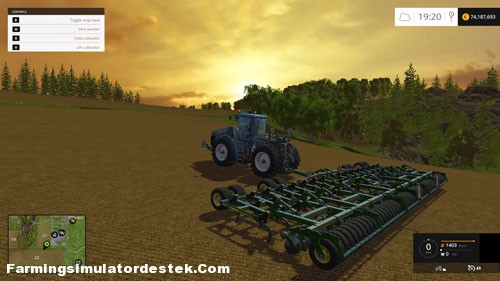 Photo of FS 2015 – John Deere 420 Kültivatör