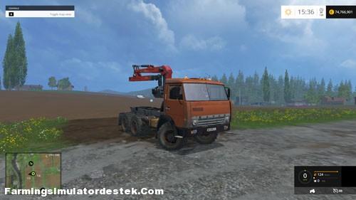 Photo of FS 2015 – Kamaz 55111 Kamyon Modu