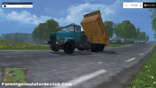 Photo of FS 2015 – Kraz 6510 Kamyon Modu