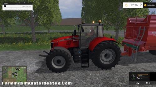 Photo of FS 2015 – Massey Fergusson 7622 Traktör