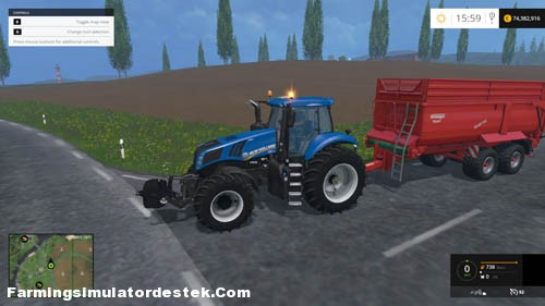Photo of FS 2015 – New Holland T8.435 Traktör