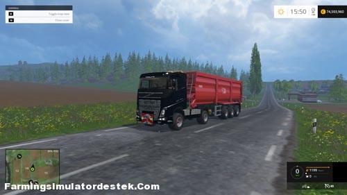 FS 2015 – Volvo FH 4×4 Agrar Kamyon Modu