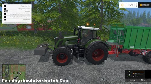 Photo of FS 2015 – Fendt 936 Vario Traktör
