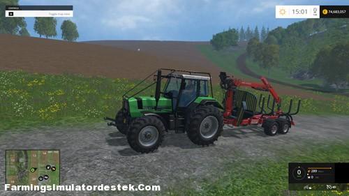 Photo of FS 2015 – Deutz Fahr Agro Star 661 Traktör