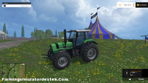 Photo of FS 2015 – Deutz Fahr Agrostar 6.61 Hızlı Traktör