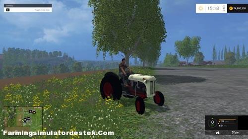 Photo of FS 2015 – Ford 8N Kabinsiz Traktör