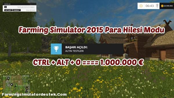 Photo of Farming Simulator 2015 Yeni Para Hilesi Modu