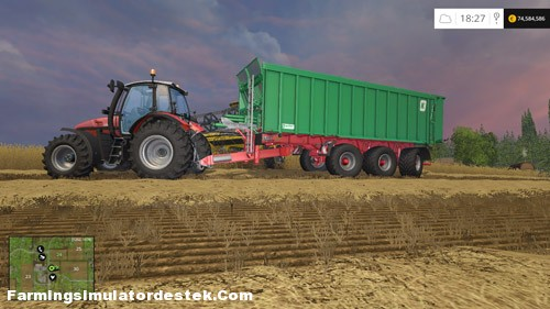 FS 2015 – Kroeger Agroliner TAW 30 Römork