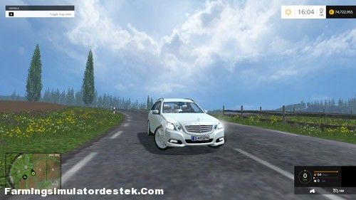 Photo of FS 2015 – Mercedes E Class Araba Modu