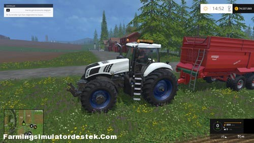 Photo of FS 2015 – New Holland T8320 620 EvoX Traktör