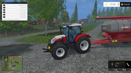 FS 2015 – Steyr Profi CVT Traktör
