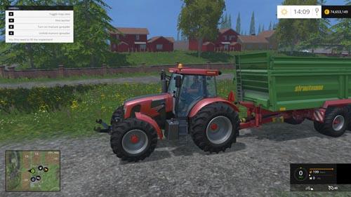 FS 2015 – Ursus 15014 Traktör