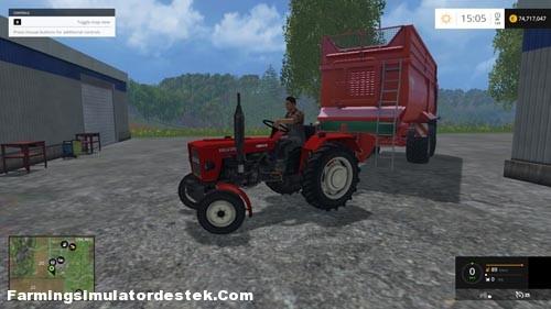Photo of FS 2015 – Ursus C330 Kabinsiz Traktör