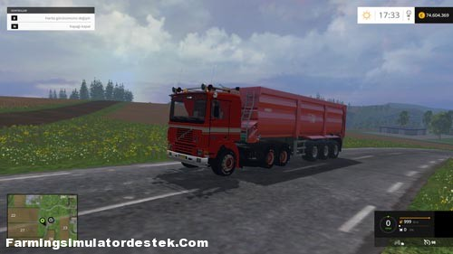 Photo of FS 2015 – Volvo F12 6X4 Kamyon Modu