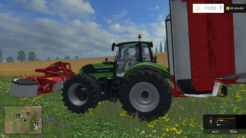 Photo of FS 2015 – Deutz Fahr 7250 Traktör