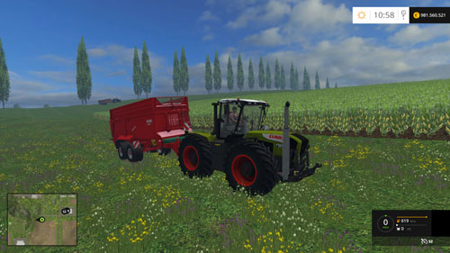 Photo of FS 2015 – Claas Xerion 3300 Traktör