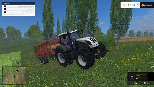 Photo of FS 2015 – Steyr CVT 6230 Traktör
