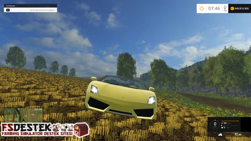 Photo of FS 2015 – Lamborghini Gallardo Spyder Araba Yaması