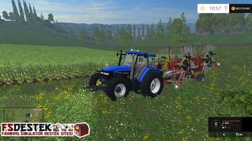 Photo of FS 2015 – New Holland TM 150 Traktör