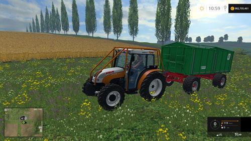 Photo of FS 2015 – Steyr Kompakt 4095 Traktör Paketi