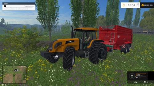 FS 2015 – Valtra BH 210 Traktör