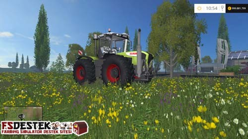 Photo of FS 2015 – Claas Xerion 3800VC Traktör