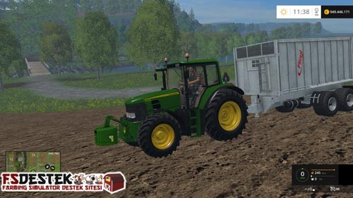 Photo of FS 2015 – John Deere 6430 Traktör Paketi