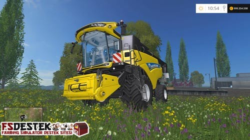 Photo of FS 2015 – New Holland CR 6.90 Biçer Döver
