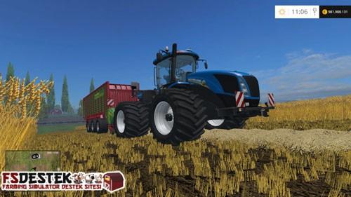 Photo of FS 2015 – New Holland T9.560 Traktör