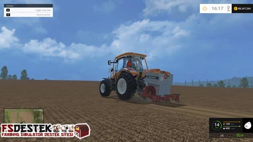 Photo of FS 2015 – Planter Agrozet SA2-074 Mibzer