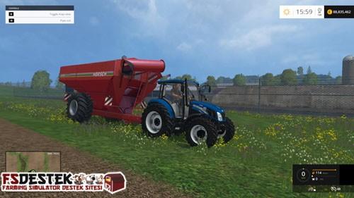 Photo of FS 2015 – New Holland T4 75 Traktör