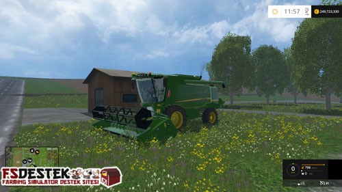 Photo of FS 2015 – John Deere W540 Biçer Döver