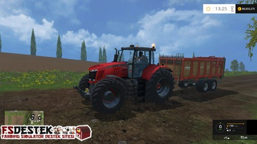 Photo of FS 2015 – Massey Ferguson 6480 Traktör