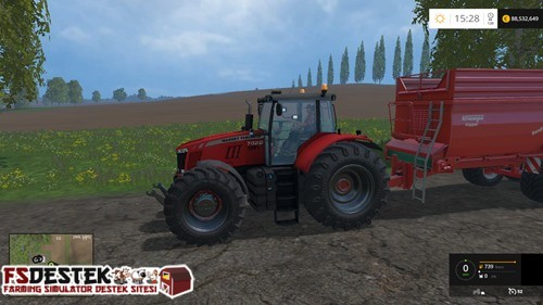 Photo of FS 2015 – Massey Ferguson 8737 Traktör