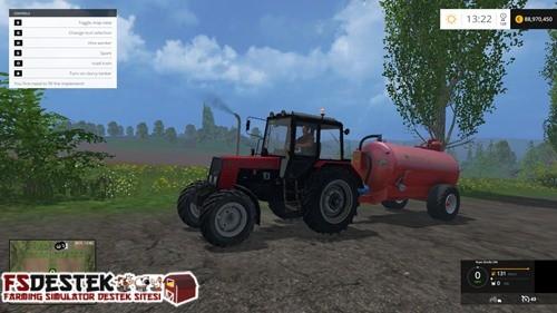 Photo of FS 2015 – MTZ-892 Belarus Kırmızı Traktör